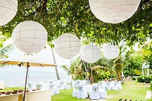 Garten Lampions Wetterfest : lampions bei der hochzeit eine romantische dekoidee ~ Frokenaadalensverden.com Haus und Dekorationen