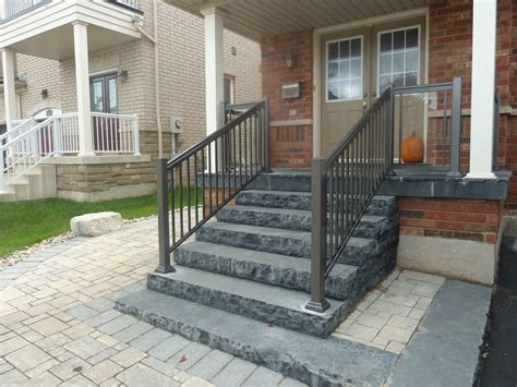 9 aluminum rails stairs aluminum railings toronto
