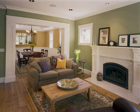custom craftsman craftsman living room