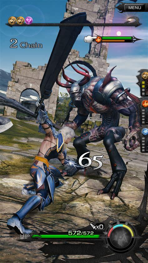 mobius final fantasy    mobile ff games