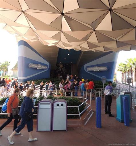 epcot with children build a better mouse trip 680   Spaceship Earth ride
