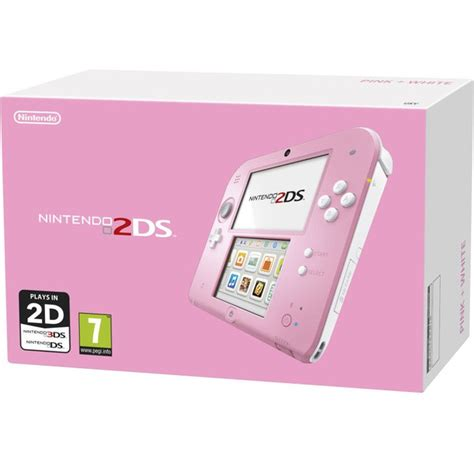 Nintendo 2ds Console by Nintendo 2ds Console Pink White Nintendo Uk Store