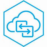 Cloud Migration Services Solutions Icon Upgrade Rehosting