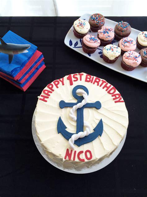 Nautical 1st Birthday Party  Popcorn And Pandas