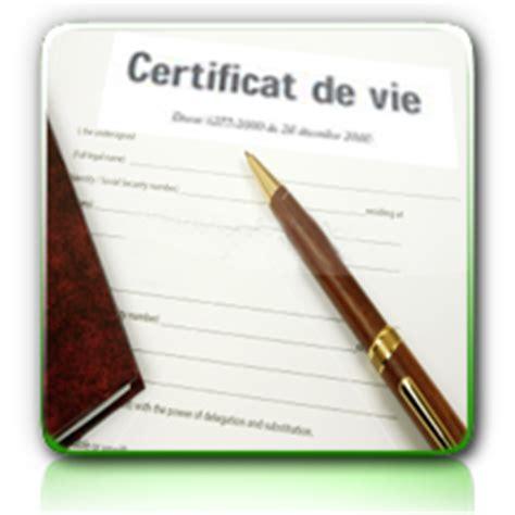demandez un certificat de vie mairie d allonnes