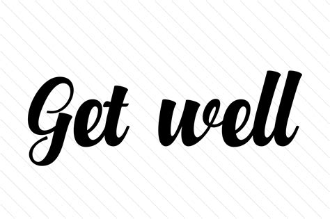 Get Well Svg Cut File By Creative Fabrica Crafts