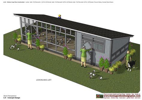 Chicken House Designs by Home Garden Plans