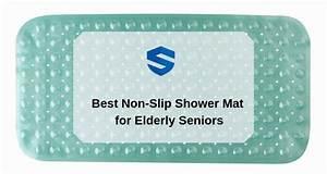 Best Non-slip Shower Mat For Elderly Seniors