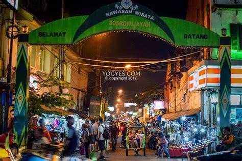 sosrowijayan kampung turis  pusat kota yogyakarta