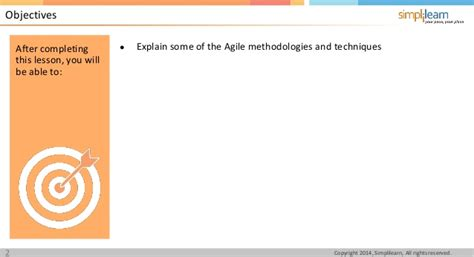 Pmiacp Lesson 01 Nugget 2 Agile Methodologiesi