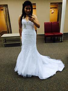 petite brides show me your trumpet fit and flare wedding With wedding dresses for tiny brides