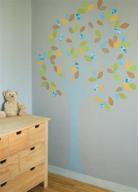 ou placer humidificateur chambre bebe arbre mural esprit cabane idees creatives et ecologiques