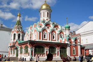 moscows red square   history sights  russia