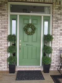 pictures of front doors Front Door Planter Ideas : 36 Plants for Front Door Entrance | Homeoholic