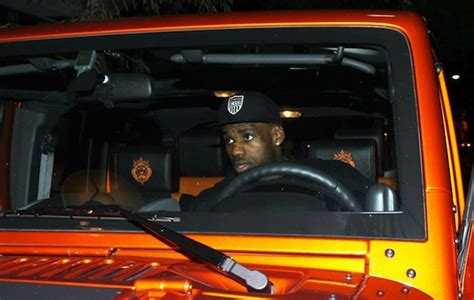 lebron white jeep lebron james 39 s jeep wrangler lebron 39 s orange jeep