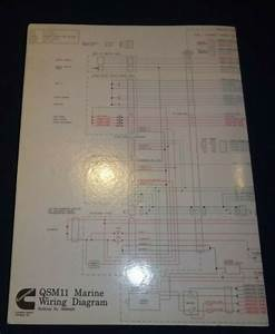 Cummins Qsm11 Marine Engine Wiring Diagram Schematic
