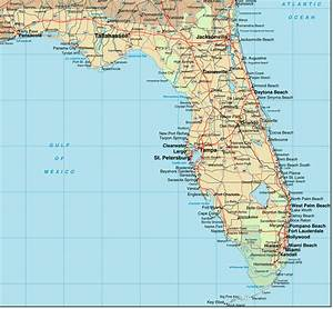 Florida Map Miami Beach 411 A Map Of Floirda And Cities