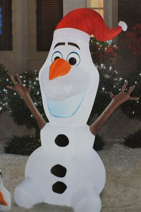 olaf inflatable christmas decoration wwwindiepediaorg