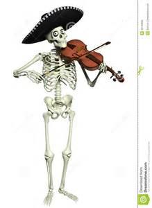 Free Skeleton Playing Violin