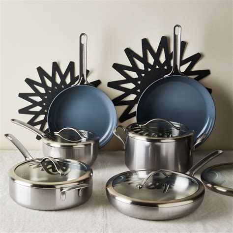 essential cookware set  food nonstick stainless steel  food