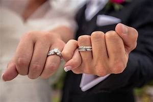 engagement ring vs wedding ring what39s the difference With engagement ring on wedding day