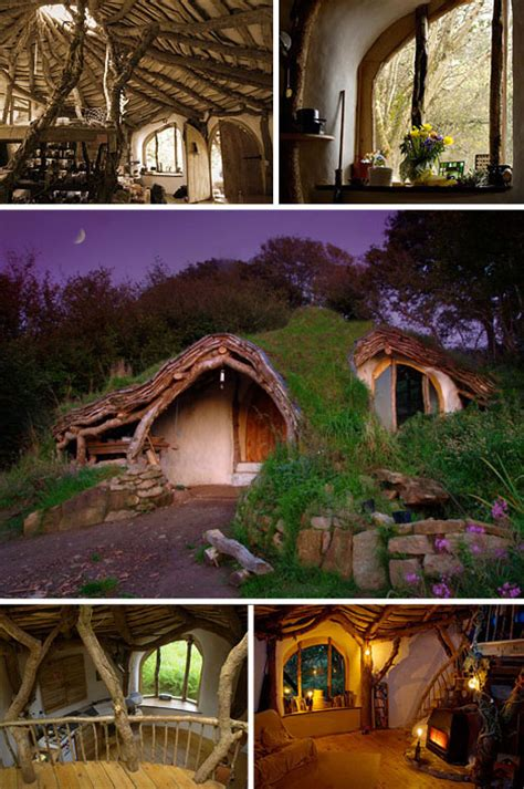 10 Unique Houses In The Hobbit Style by Sustainable Hobbit Home Urbanist