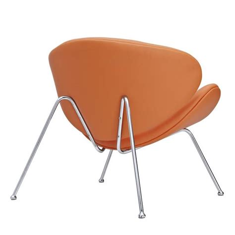 paulin orange slice chair the modern source