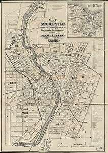 Map Of Rochester   From The Latest Surveys