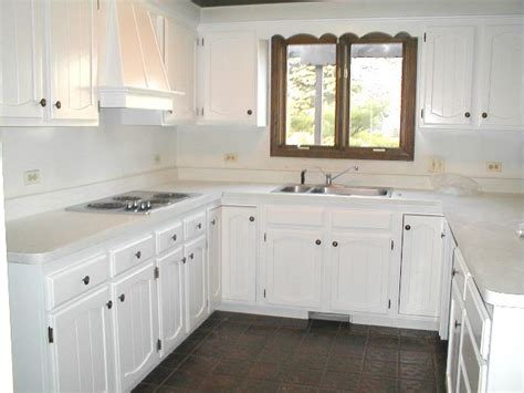 painting kitchen cabinets white  cleanliness