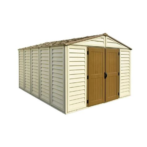 duramax storage shed duramax building products woodbridge plus 10 5 ft x 13 ft