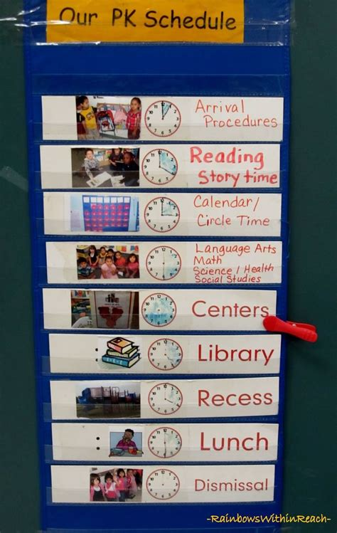9 best images about classroom schedules on 812 | 05220f9b4c91e09f40c8c69229e9e99b