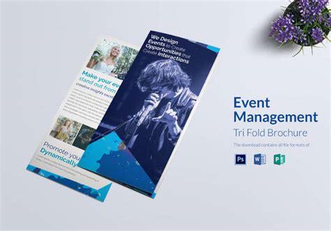 event brochure templates psd google docs apple