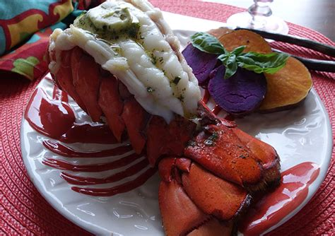 butterfly lobster butterflied lobster tail prettyfood