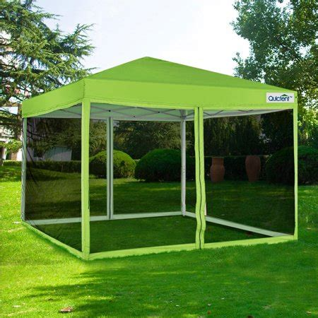 quictent  ez pop  canopy tent  netting screen house instant gazebo party tent mesh