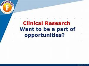 Career in clinical research for How to start a career in clinical research