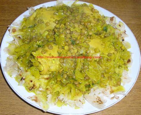 poulet cuisine recette rfissa marocaine au poulet images