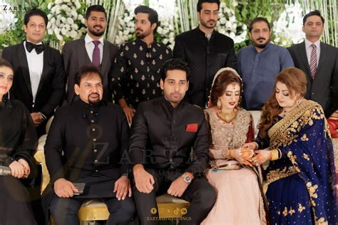 beautiful wedding pictures  actor salman saeed