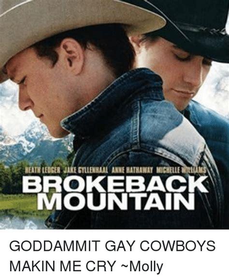 Gay Cowboy Meme - funny brokeback mountain memes of 2016 on sizzle emma watson