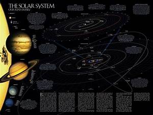 Wallpaper map, solar system, planet, stars, astronomy ...
