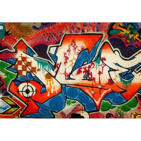papier peint g 233 ant d 233 co tag graffiti 250x360cm stickers