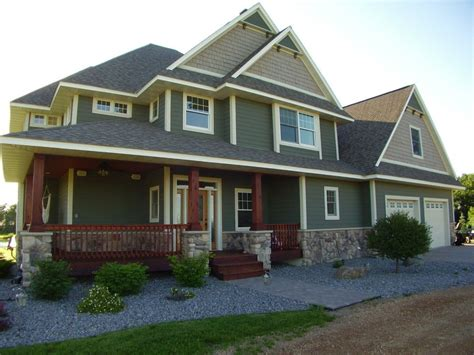 Craftsman House Colors Exterior