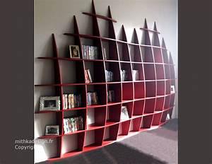 Bibliothèque Murale Design : biblioth que murale design fixations invisibles gm2 etagere murale pinterest ~ Teatrodelosmanantiales.com Idées de Décoration