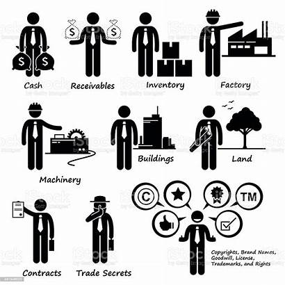 Pictogram Business Company Vector Human Clipart Icons