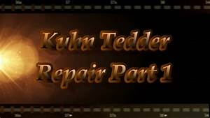 Kuhn Hay Tedder Repair Part 1