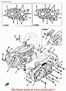 Yamaha Dt250 1974 Usa Crankcase
