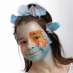 Maquillage Simple Enfant : mod le de maquillage enfant reine du lac id es et conseils maquillage ~ Melissatoandfro.com Idées de Décoration