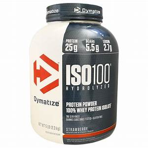 Iso 100 Hydrolyzed 100  Whey Protein Isolate  U2014 Factory Direct Nutrition