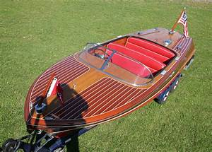 1956 19 U0026 39  Chris Craft Capri Double Cockpit Classic Runabout
