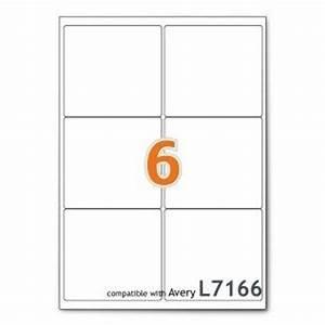 A4 mailing shipping printer labels 6 per sheet avery for Avery shipping labels 6 per page