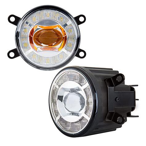 Led Fog Light Kit by 3 1 2 Quot Led Projector Fog Lights Conversion Kit W Halo